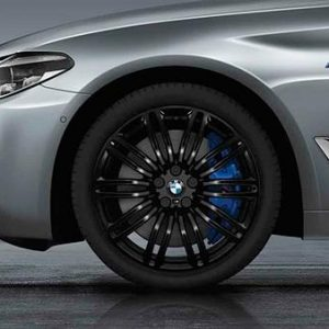Диск литой R19 BMW G30/G31, DOUBLE SPOKE 664M Black, 9,0J x 19 ET44 ЗО