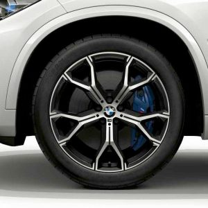 Диск литой R21 BMW G05, Y-SPOKE 741M, 9,5J x 21 ET37 ПО