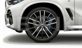 Диск литой R22 BMW G05, DOUBLE SPOKE 742M, 9,5J x 22 ET37 ПО