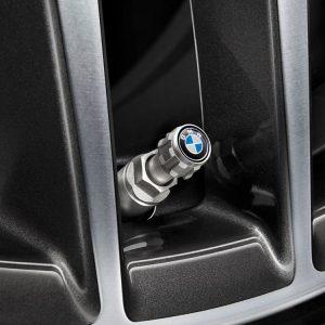 Комплект колпачков для колесных вентилей BMW Logo