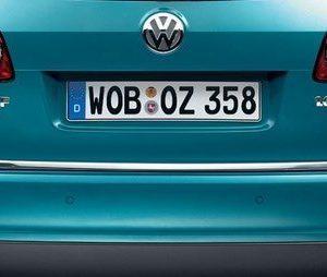 Накладка на крышку багажника Volkswagen Passat (B7) Variant / Alltrack, хромированная