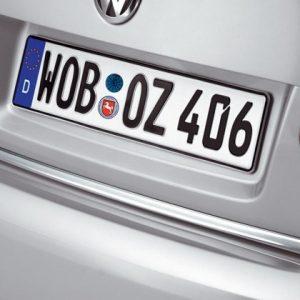 Накладка на крышку багажника Volkswagen Jetta 5, хромированная