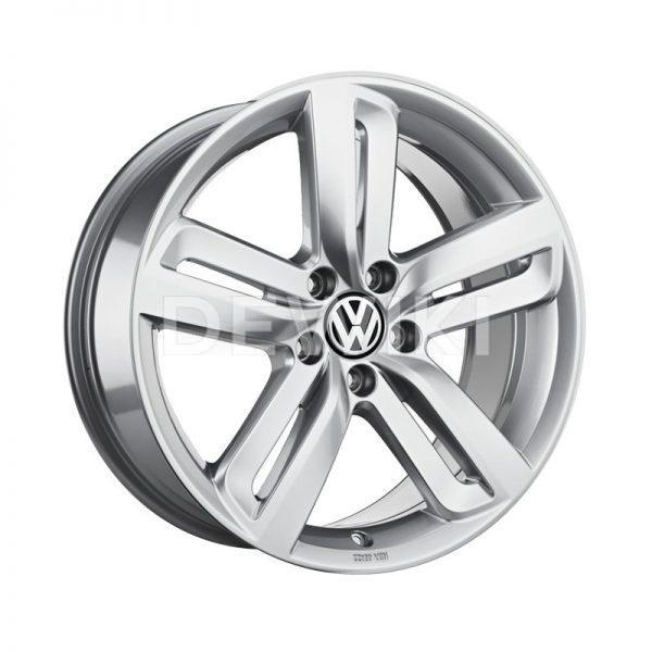 Диск литой R18 Volkswagen, Milagro Sterling Silver, 8J x 18 ET44