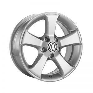 Диск литой R17 Volkswagen, Sima Brilliant Silver, 6J x 17 ET45