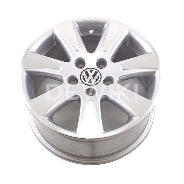 Диск литой R16 Volkswagen Passat, Catalunya Brilliant Silver, 7,0J x 16 ET45