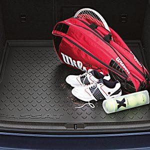 Коврик в багажник Volkswagen Passat (B6) / (B7) / CC Limousine, с надписью