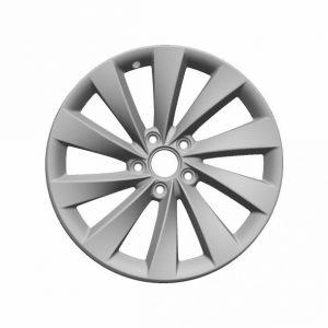 Диск литой R18 Volkswagen, Interlagos Bright Chrome, 8,0J x 18 ET41