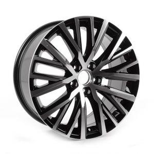 Диск литой R18 Volkswagen, Lakeville Aluminium Gloss / Black, 8,0J x 18 ET41