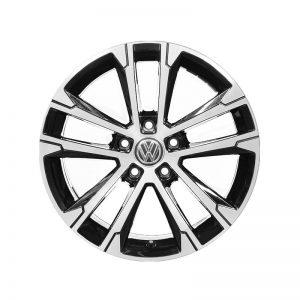 Диск литой Volkswagen, Singapore Black Turned Aluminium, 7J x 17 ET40