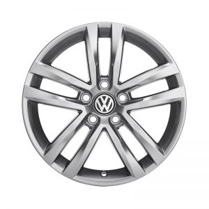 Диск литой R17 Volkswagen, Salvador Grey Metallic, 7J x 17 ET40