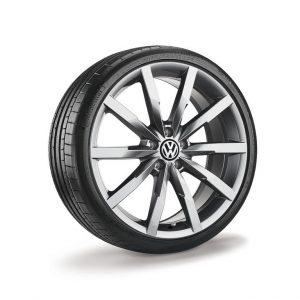 Диск литой R18 Volkswagen, Monterey Grey Metallic, 8J x 18 ET44