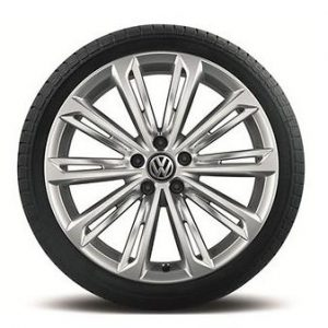Летнее колесо в сборе VW Passat в дизайне Verona, 235/40 R 19 96Y XL, Silver, 8.0J x 19 ET44