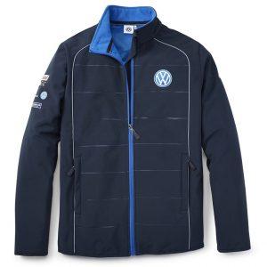 Мужская куртка софтшелл Volkswagen Motorsport, Blue
