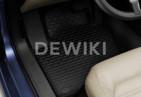 Коврики в салон Volkswagen Passat (B8), всепогодные передние и задние, без надписи