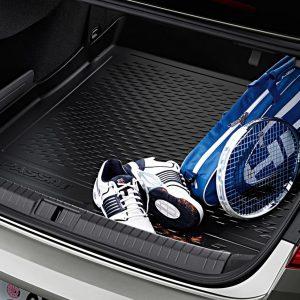 Поддон в багажник Volkswagen Passat (B8) Limousine, с надписью