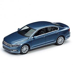 Модель в миниатюре 1:87 Volkswagen Passat B8 Limousine, Harvard Blue Metallic
