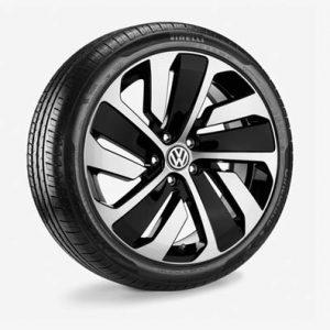 Летнее колесо в сборе VW Arteon в дизайне Montevideo,   245/40 R 19 94W, Black, 8.0J x 19 ET40
