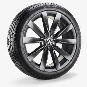 Зимнее колесо в сборе VW Arteon в дизайне Chennai, 245/40 R19 98V XL, Adamantium Dark, 8.0J x 19 ET40