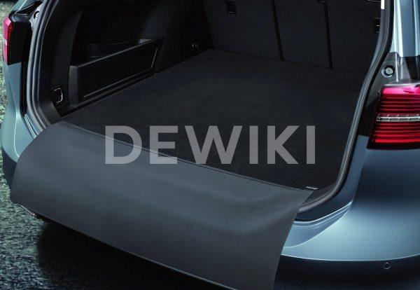 Коврик в багажник Volkswagen Passat (B8) Variant, двусторонний откидной