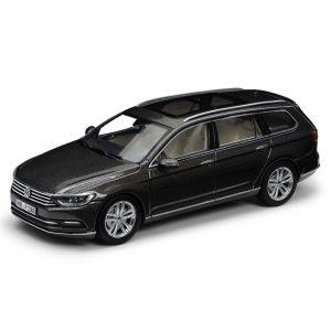 Модель в миниатюре 1:43 Volkswagen Passat B8 Variant, Black Oak Brown Metallic