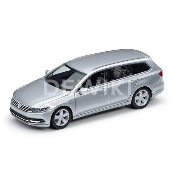 Модель в миниатюре 1:87 Volkswagen Passat B8 Variant, Reflex Silver Metallic