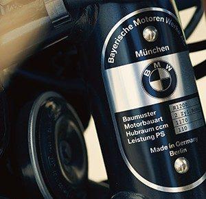 Классическая эмблема BMW R nineT 2013-2018