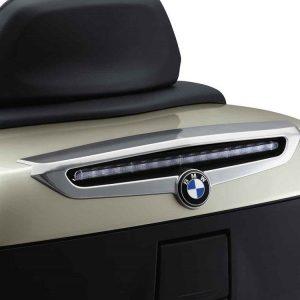 Хромированная отделка крышки верхнего кофра BMW R 1200 RT / K 1600 GT 2010-2018 год