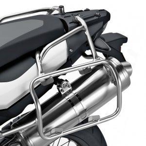 Алюминиевые дуги крепления кофров BMW F 800 GS / Adventure 2007-2018 год, левые