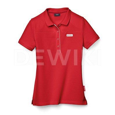 Мужская рубашка-поло Audi Sport, Red