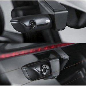 Оригинальный видеорегистратор Audi, две видеокамеры (спереди и сзади)