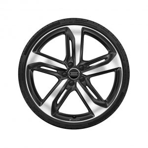 Летнее колесо в сборе Audi A6/S6, Black-gloss finish, 265/30 R21 96Y XL, 9,5J x 21 ET46