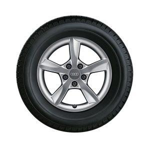 Зимнее колесо в сборе R17 Audi A3, Dunlop SP Winter Sport 3D AO Левое