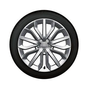 Зимнее колесо в сборе 235/45 R19 99V Dunlop SP Winter Sport 3D AO Левое
