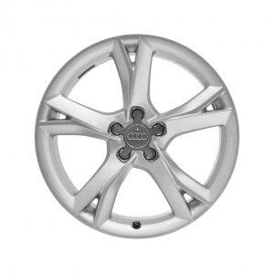Алюминиевый литой диск R19 дизайн 5 V-образных спиц Audi, Silver, 8,5J x 19 ET32