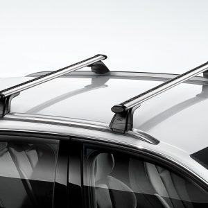 Багажные дуги Audi A6 Allroad quattro (4G/C7)  с 2013 года, для автомобилей с релингом крыши