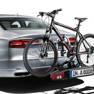 Багажник Audi для перевозки велосипедов на тягово-сцепном устройстве