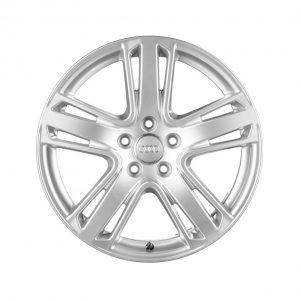Алюминиевый литой диск R21 в 5-спицевом дизайне Audi, Brilliant Silver, 9,0J x 21 ET35
