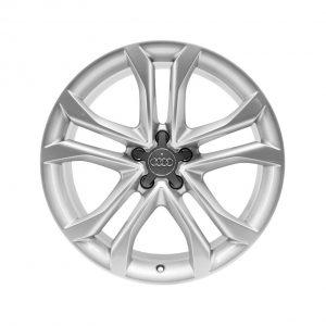 Алюминиевый литой диск R20 дизайн 5 Y-образных спиц Audi, Silver, 9,0J x 20 ET37