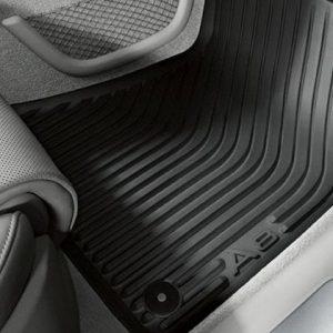 Резиновые передние коврики Audi A8/S8 (4H/D4)
