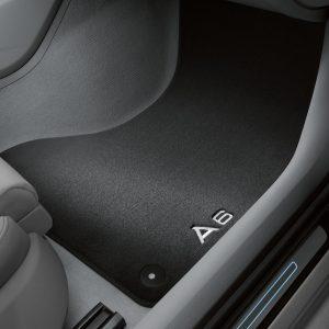 Велюровые передние коврики Audi A6 (C8)