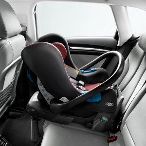 Автомобильное детское кресло Audi, до 13 кг, Misano red/Black