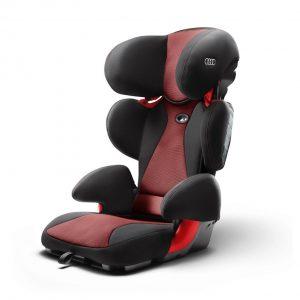 Автомобильное детское кресло Audi Youngster plus, до 36кг, Misano red/Black