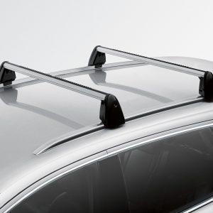 Багажные дуги Audi Q7 (4L), для автомобилей с релингом крыши