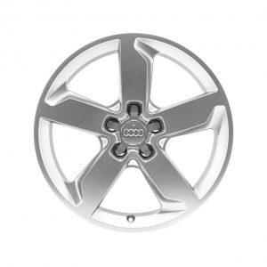 Алюминиевый литой диск R19 в 5-спицевом дизайне Audi, Silver, 8,5J x 19 ET62