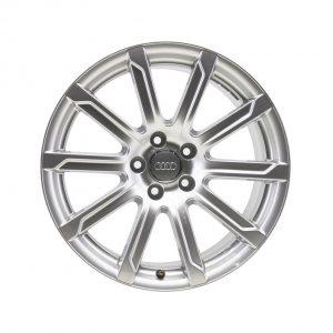Алюминиевый литой диск R20 в 10-спицевом дизайне Audi, Silver, 10,0J x 20 ET44