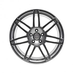 Кованый диск R21 дизайн 7 двойных спиц Audi, Titatium, 10,0J x 21 ET44