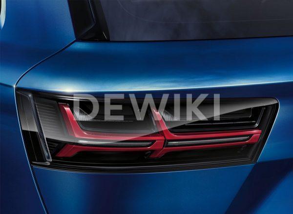 Светодиодные задние фонари Audi Q7 (4M), матовые