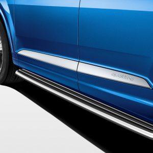 Боковая подножка Audi Q7 (4M), левая сторона
