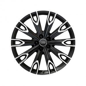 Алюминиевый литой диск R21 в 10-спицевом дизайне Audi, Black Talea 9,5J x 21 ET31