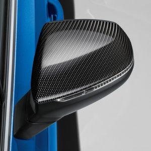 Карбоновые корпуса наружных зеркал заднего вида Audi Q5 / SQ5 (8Y), Q7 / SQ7 (4M), для автомобилей без Audi side assist